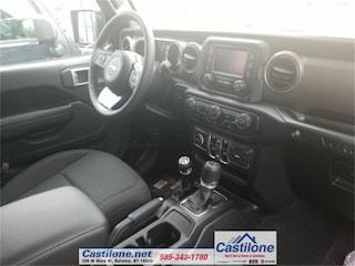 New 2019 Jeep Wrangler UNLIMITED SPORT S 4X4 Sport Utility for sale in Batavia