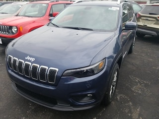 New 2019 Jeep Cherokee LATITUDE PLUS 4X4 Sport Utility for sale in Batavia