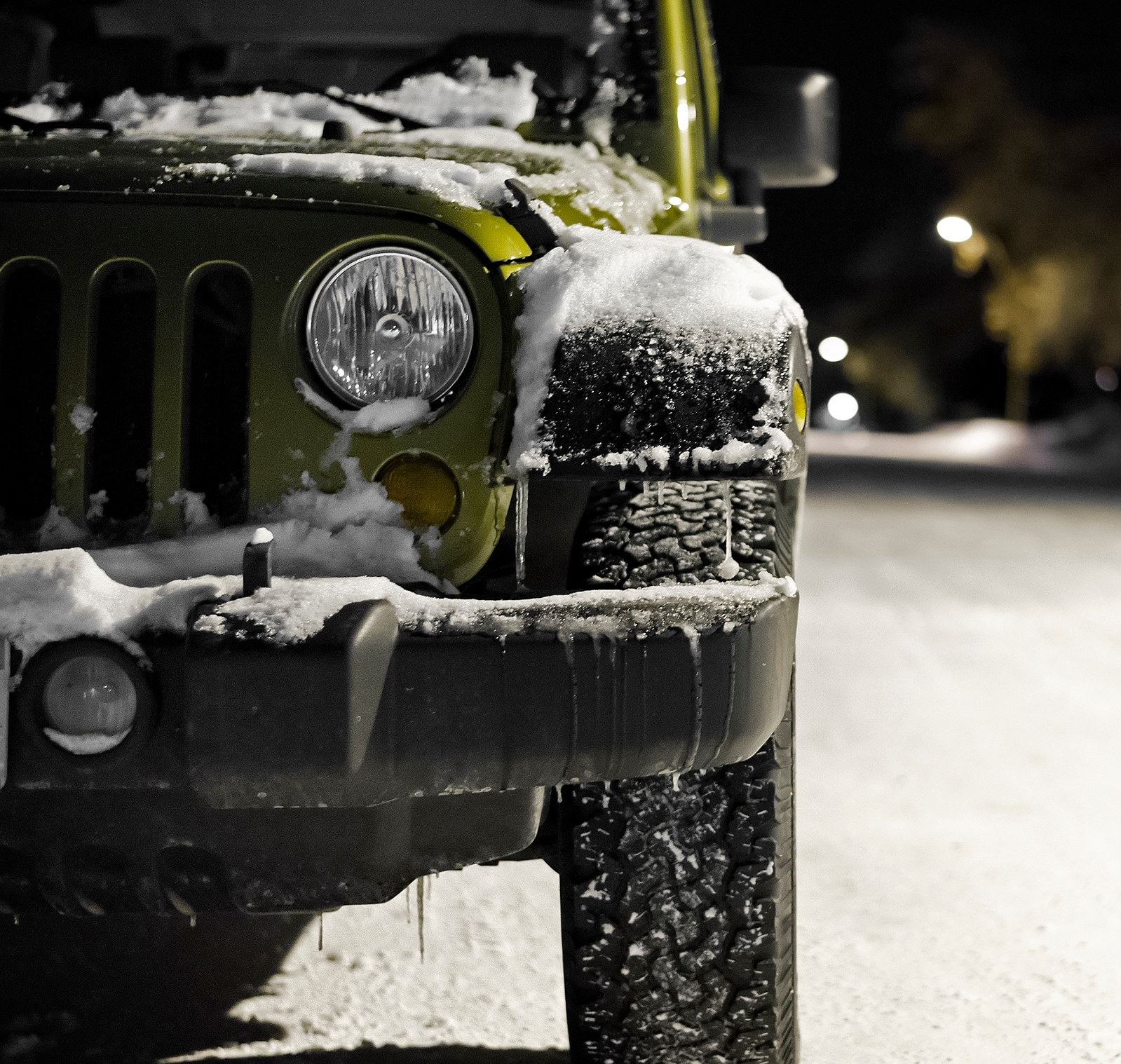 Jeep Wrangler Winter