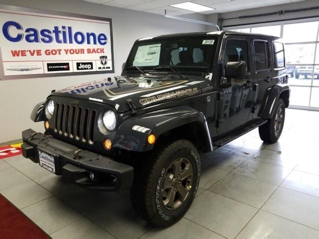2018 Jeep Wrangler JK UNLIMITED GOLDEN EAGLE 4X4 Sport Utility for sale in Batavia