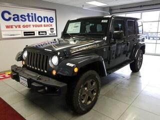 New 2018 Jeep Wrangler JK UNLIMITED GOLDEN EAGLE 4X4 Sport Utility for sale in Batavia