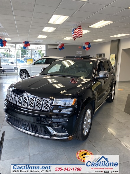 2019 Jeep Grand Cherokee SUMMIT 4X4 Sport Utility for sale in Batavia