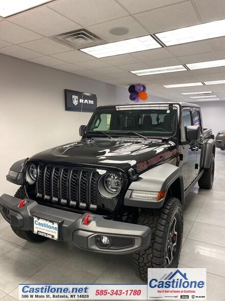 2020 Jeep Gladiator RUBICON 4X4 Crew Cab for sale in Batavia