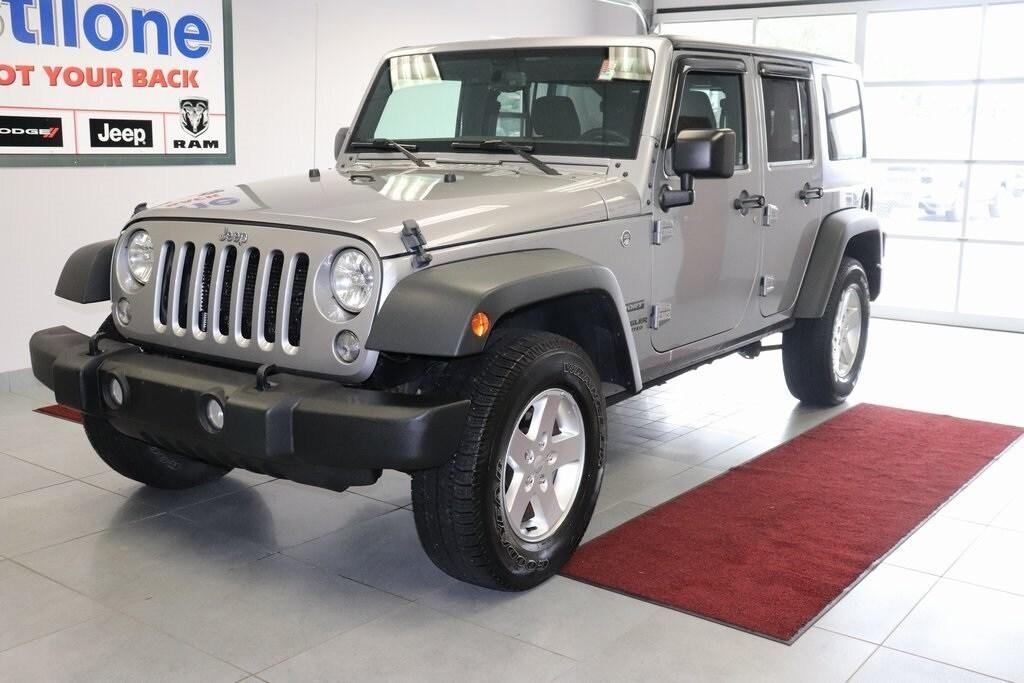 2016 Jeep Wrangler Unlimited Sport SUV for sale in Batavia
