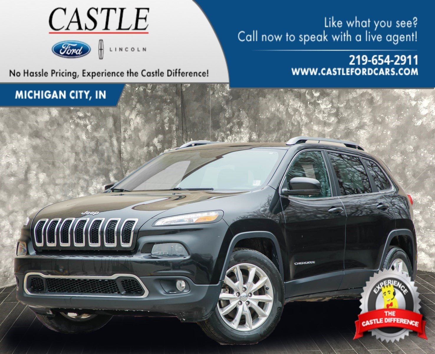 2015 Jeep Cherokee Limited 4WD  Limited