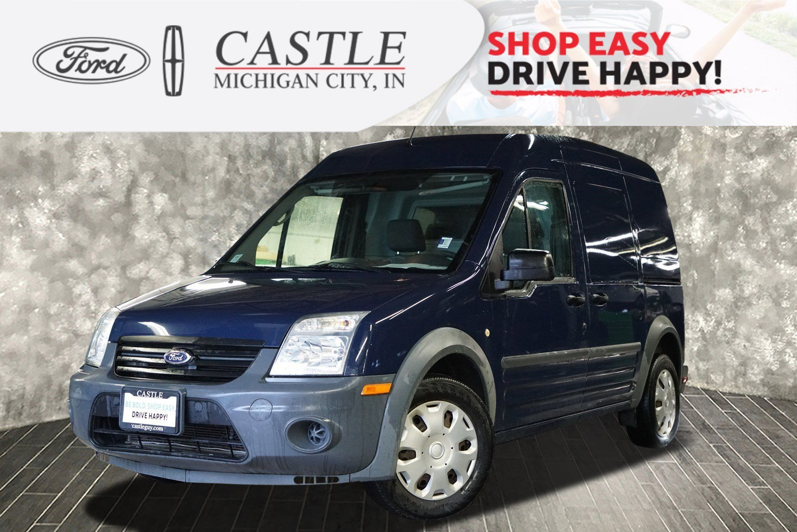 2013 Ford Transit Connect XL 114.6 XL w/o side or rear door glass