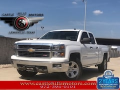 Used 2014 Chevrolet Silverado 1500 LT Truck Double Cab for Sale in Lewisville, TX