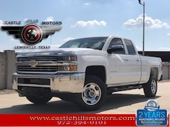Used 2015 Chevrolet Silverado 2500HD WT Truck Double Cab for Sale in Lewisville, TX
