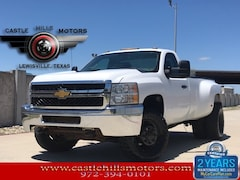 Used 2014 Chevrolet Silverado 3500HD WT Truck Regular Cab 1GC3KZCG2EF100514 for Sale in Lewisville, TX