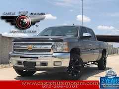 Used 2013 Chevrolet Silverado 1500 LT Truck Crew Cab for Sale in Lewisville, TX