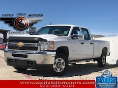 Used 2013 Chevrolet Silverado 2500HD WT Truck Crew Cab for Sale in Lewisville, TX