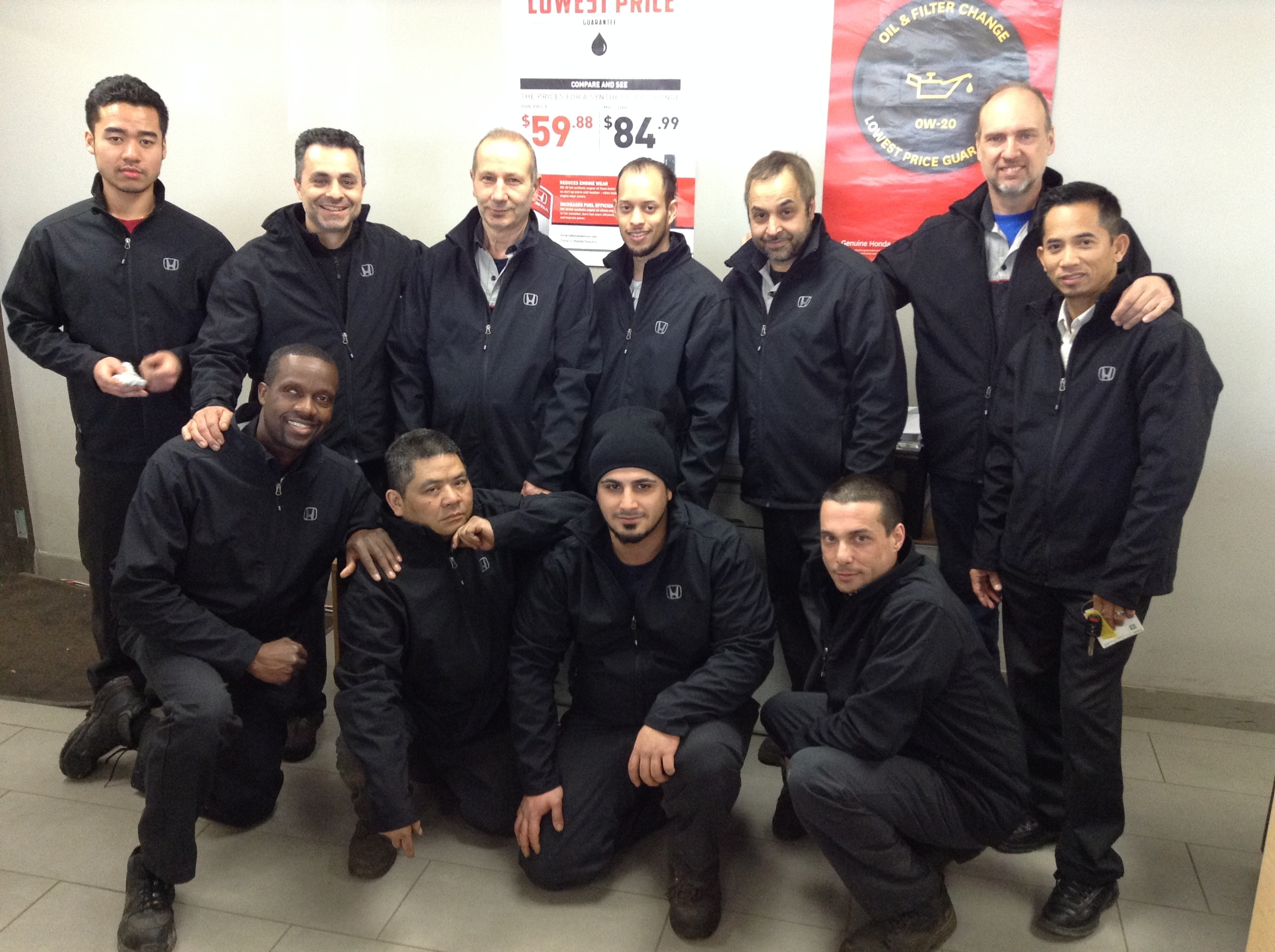 Castle Honda Service Team - Castle Honda