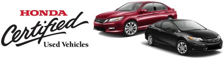 Honda Certified Used ...