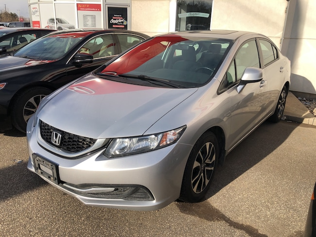 2013 Honda Civic EX/ NEW FRONT PADS! MACHINED ROTORS!  Sedan