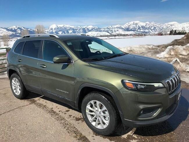 New 2019 Jeep Cherokee LATITUDE 4X4 Sport Utility in Afton, NY