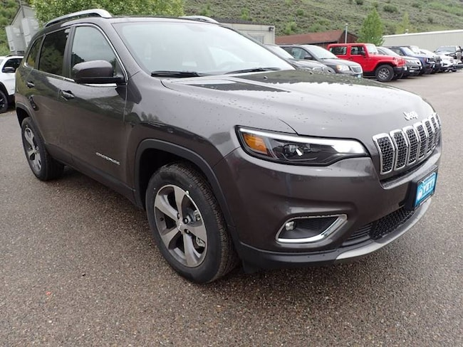 New 2019 Jeep Cherokee LIMITED 4X4 Sport Utility in Afton, NY
