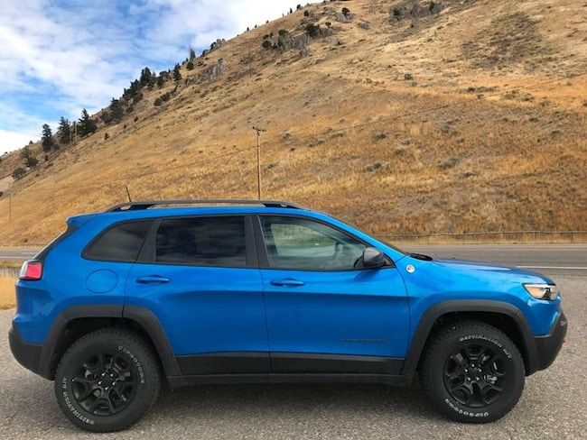 New 2019 Jeep Cherokee TRAILHAWK ELITE 4X4 For Sale in ...