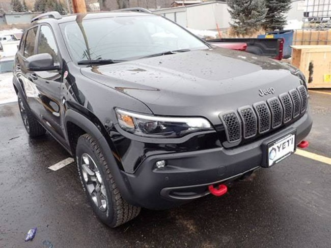 New 2019 Jeep Cherokee TRAILHAWK ELITE 4X4 Sport Utility in Afton, NY