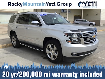 Used 2018 Chevrolet Tahoe For Sale at Rocky Mountain Yeti