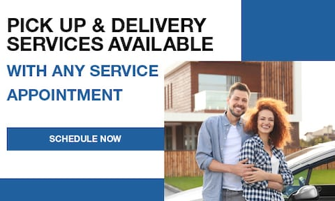 Pick Up & Delivery Services Available With Any Service Appointment