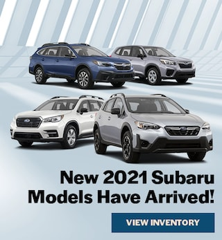 New 2021 Subaru Models Arrived