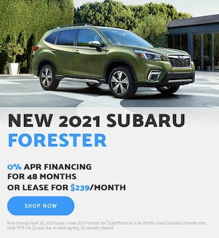 New 2021 Subaru Forester - April