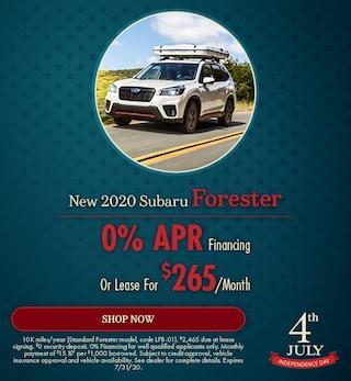 July - 2020 Subaru Forester