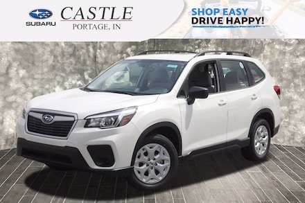 Featured New 2020 Subaru Forester Base Trim Level SUV for Sale in Portage, IN