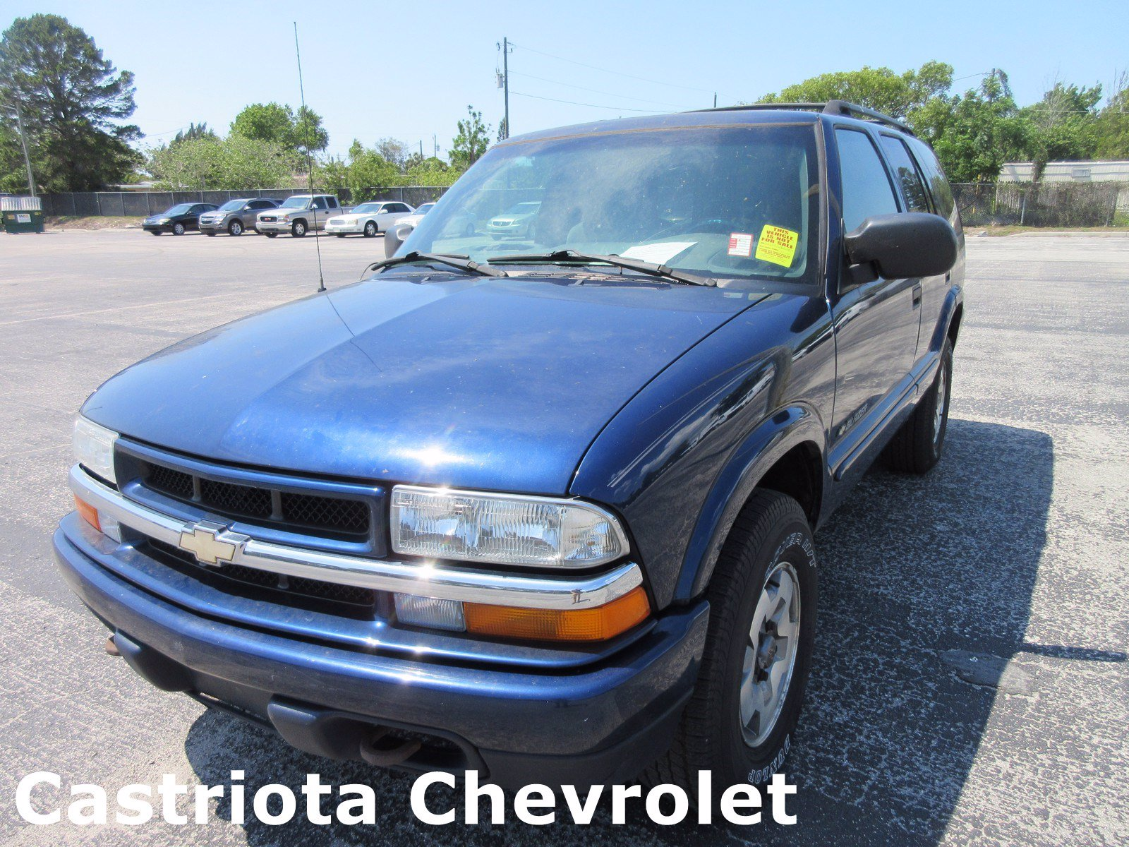 2002 Chevrolet Blazer SUV