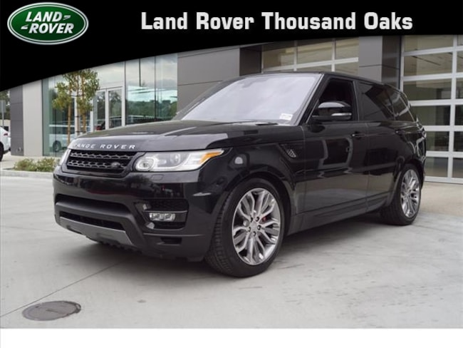Used 2016 Land Rover Range Rover Sport SC Sport Utility in Thousand Oaks, CA
