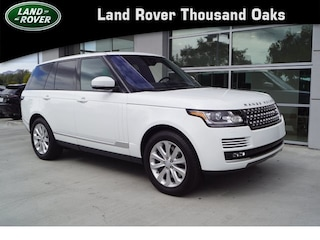 Certified Pre-Owned 2017 Land Rover Range Rover HSE Sport Utility in Thousand Oaks, CA