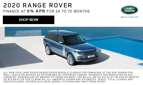 August 2020 Range Rover Special