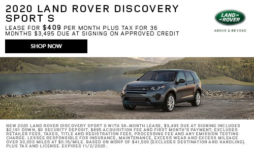 October 2020 Discovery Sport Special