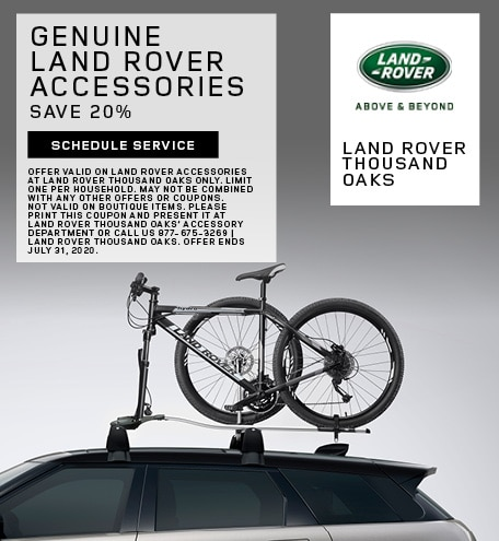 Genuine Land Rover Accessories Special