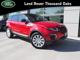 Certified Pre-Owned 2017 Land Rover Range Rover Evoque HSE Sport Utility in Thousand Oaks, CA