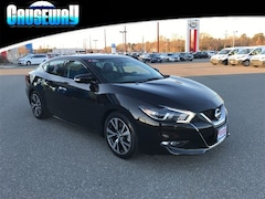 2016 Nissan Maxima 3.5 SL Sedan 1N4AA6AP3GC906626 for sale in Manahawkin, NJ at Causeway Nissan