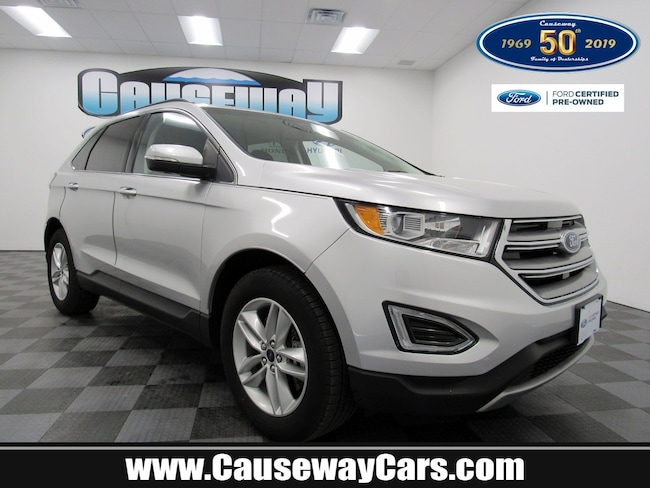 Certified Pre-Owned 2016 Ford Edge SEL SEL AWD For Sale Manahawkin, New Jersey