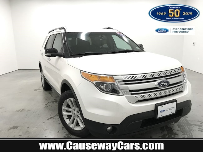 Certified Pre-Owned 2015 Ford Explorer XLT 4WD  XLT For Sale Manahawkin, New Jersey