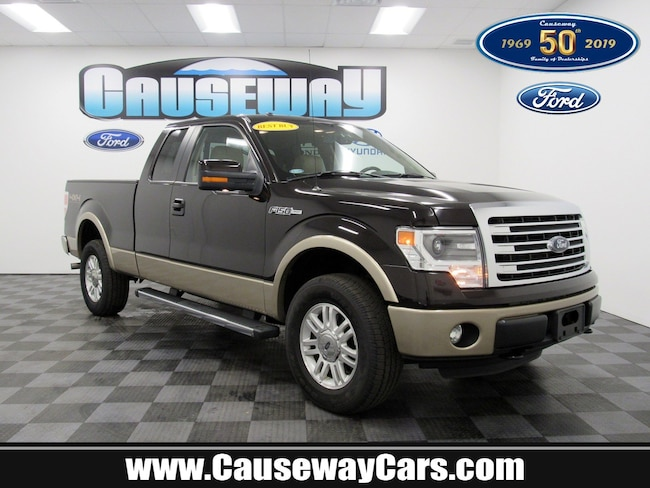 Used 2014 Ford F-150 Lariat 4WD SuperCab 145 Lariat For Sale Manahawkin, NJ