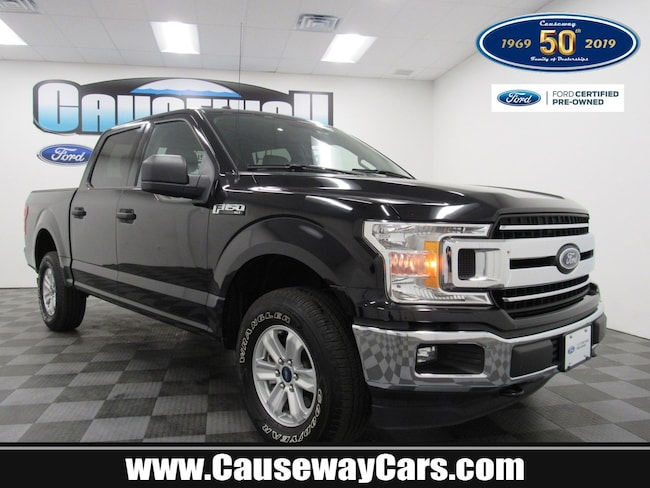 Certified Pre-Owned 2018 Ford F-150 XLT XLT 4WD SuperCrew 5.5 Box For Sale Manahawkin, New Jersey