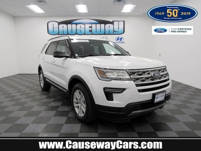 Certified Pre-Owned 2018 Ford Explorer XLT XLT 4WD For Sale Manahawkin, New Jersey