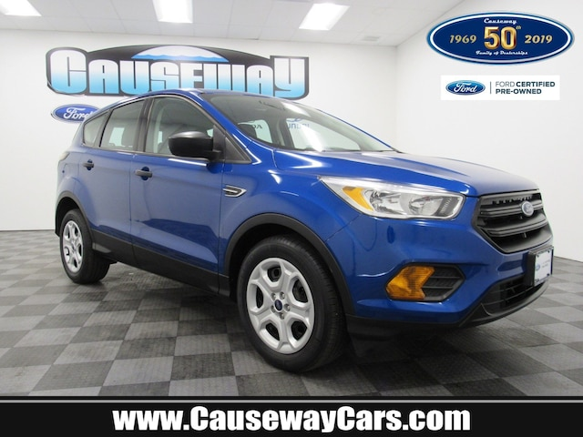 Certified Pre-Owned 2017 Ford Escape S For Sale