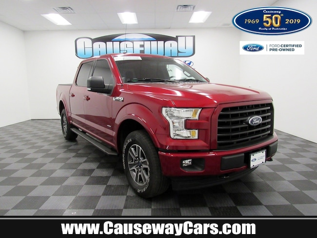 Certified Pre-Owned 2017 Ford F-150 XLT XLT 4WD SuperCrew 5.5 Box For Sale Manahawkin, New Jersey