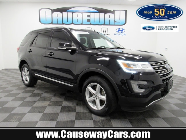 Certified Pre-Owned 2016 Ford Explorer XLT 4WD  XLT For Sale Manahawkin, New Jersey