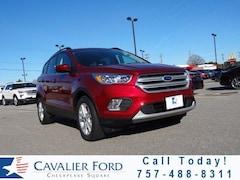 New Ford 2018 Ford Escape SE FWD Sport Utility in Chesapeake, VA