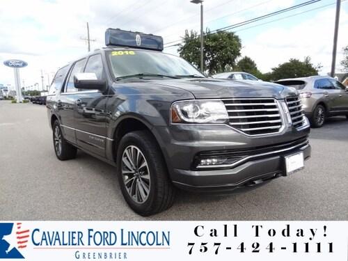 2016 Lincoln Navigator SUV