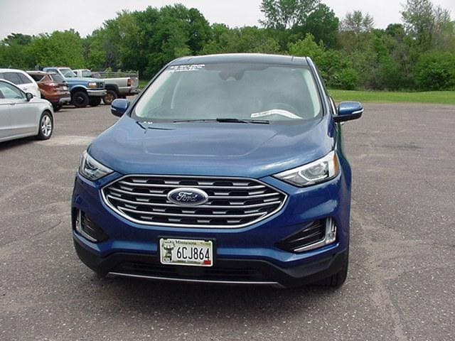Used 2020 Ford Edge SEL with VIN 2FMPK4J95LBB54828 for sale in Pine City, Minnesota