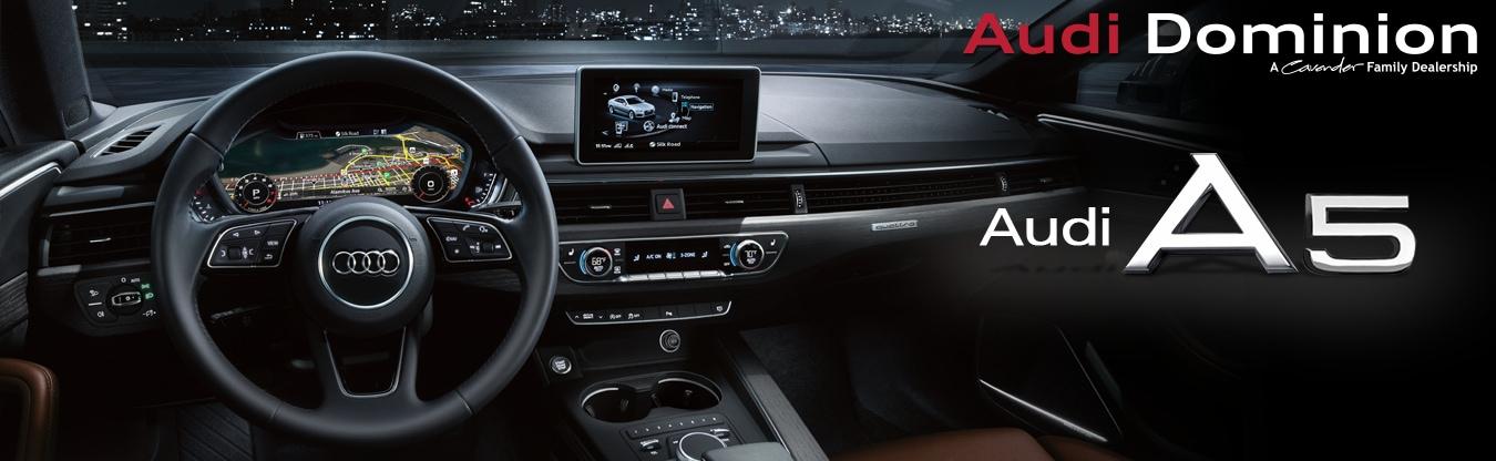 The Audi A5 at Audi Dominion in San Antonio, Texas | Audi