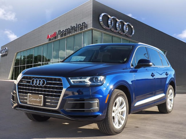 2019 Audi Q7 For Sale In San Antonio Near Alamo Heights Converse