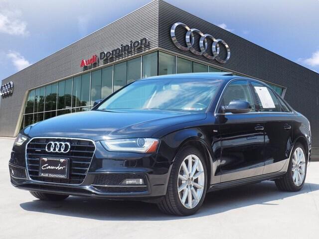 Bargain Used 2015 Audi A4 Premium Plus Sedan under $15,000 for Sale in San Antonio